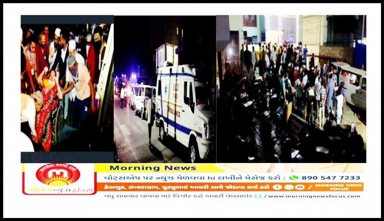ભરૂચ બાદ ભાવનગરની કોવિડ હોસ્પિટલમાં મોડી રાત્રે લાગી આગ : 70 દર્દીઓ હતા દાખલ
